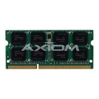 Axiom - Memory - 4 GB - SO DIMM 204-pin - DDR3 - 1600 MHz / PC3-12800