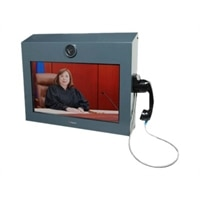 Polycom RealPresence VideoProtect 500 - Video conferencing kit - 22 in - with EagleEye Acoustic Camera