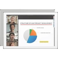 MooreCo Projection Whiteboard with Polyvision duo Surface - whiteboard projection screen - 79 in (79.1 in)