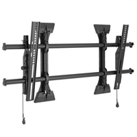 Chief Large FUSION LTM1U - Wall mount for LCD / plasma panel - black - screen size: 37-inch-63-inch