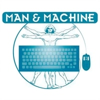 Man & Machine Really Cool Medical Grade Keyboard w/ Magnets (White)