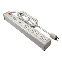 C2G 6ft Wiremold 6-Outlet Plug-In Center Unit 120v/15a Network Protector Lighted Switch Computer Grade Surge Protecto...