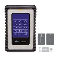 DataLocker DL3 1TB USB 3.0 encrypted external portable hard drive w/RFID