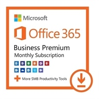 Office 365 Business Premium from Dell - Monthly Subscription