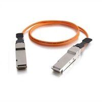 C2G 40G InfiniBand Active Optical Cable - InfiniBand cable - QSFP+ (M) to QSFP+ (M) - 82 ft - SFF-8436 - orange