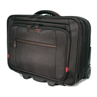 Mobile Edge Professional Overnight Rolling 13-inch to 17.3-inch Laptop Case - Laptop carrying case
