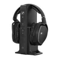 Sennheiser RS 175 - Headphone system - full size - 2.4 GHz - wireless
