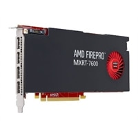 Barco MXRT-7600 high-performance PCIe 8GB GDDR5 display controller featuring the latest AMD FirePro 4-Display Ports
