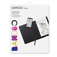 Wacom Bamboo Folio - Digitizer - electromagnetic - wireless - Bluetooth - dark gray