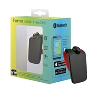 Parrot MINIKIT Neo2 HD - Bluetooth hands-free speakerphone - red
