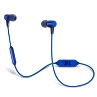 JBL E25BT - Earphones with mic - in-ear - Bluetooth - wireless - blue