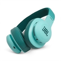 JBL E55BT - Headphones with mic - full size - Bluetooth - wireless - 3.5 mm jack - teal