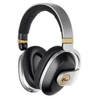 Blue Satellite Wireless Headphones with Audiophile Amp - Black