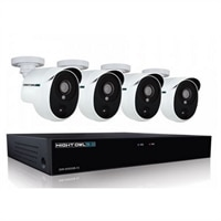 Night Owl Extreme HD XHD501-44P - DVR + camera(s) - wired - LAN 10/100 - 4 channels - 1 x 1 TB - 4 camera(s)