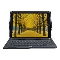 Logitech Universal Folio for 9-10 inch Tablets - Keyboard and folio case - wireless - Bluetooth 3.0