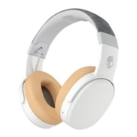 Skullcandy Crusher Headphones with mic full size wireless Bluetooth - gray, tan