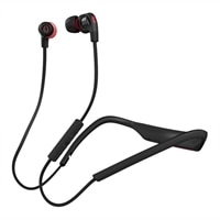 Skullcandy Smokin Buds 2 Earphones with mic in-ear wireless Bluetooth - black, red