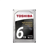 Toshiba N300 NAS - Hard drive - 6 TB - internal - 3.5-inch - SATA 6Gb/s - 7200 rpm - buffer: 128 MB