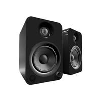 Kanto YU4 - Speakers - bookshelf - wireless - Bluetooth - 140-watt (total) - 2-way - gloss black