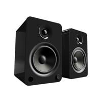 Kanto YU6 - Speakers - bookshelf - wireless - Bluetooth - 200-watt (total) - 2-way - gloss black