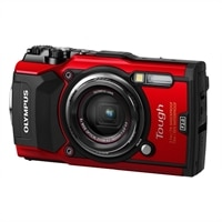Olympus Tough TG-5 Digital camera compact 12.0 MP 4K / 30 fps 4x optical zoom - red