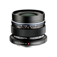 Olympus M.Zuiko Digital - Wide-angle lens - 12 mm - f/2.0 ED - Micro Four Thirds