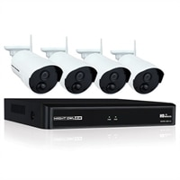 Night Owl WNVR201-44P-B - NVR + camera(s) - wireless - 802.11b, 802.11g, 802.11n - 4 channels - 1 x 1 TB - 4 camera(s)