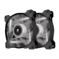 CORSAIR Air Series LED AF120 Quiet Edition - Case fan - 120 mm - white (pack of 2)