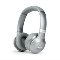 JBL Everest 310 Headphones with mic on-ear Bluetooth Wireless - Silver