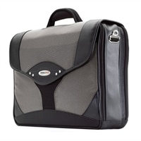 Mobile Edge Premium Briefcase Notebook Carrying Case 15.4 Inch - Black, Charcoal
