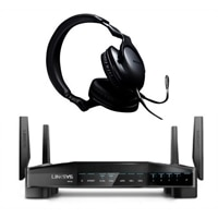 Linksys WRT32X Gaming Router + Roccat Cross Headset