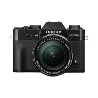 Fujifilm X Series X-T20 Digital Camera Mirrorless 24.3 MP APS-C 4K / 30 fps 18-55mm R LM OIS Lens - Black