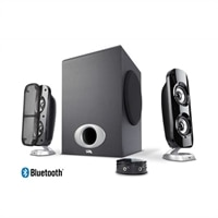 CA-3858BT - 80W Peak Powered Speaker System with Control Pod and Bluetooth
