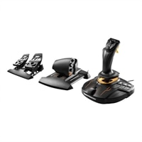 ThrustMaster T.16000M FCS Flight Pack - Joystick, throttle and pedals - wired - for PC