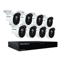 Night Owl Extreme HD XHD502-88P - DVR + Camera(s) - Wired - 8 Channels - 1 x 2 TB - 8 Camera(s) - Black