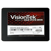 VisionTek PRO 480 GB, 7mm 2.5-inch Solid State Drive