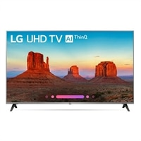 LG 65 Inch 4K HDR Smart LED UHD TV with AI ThinQ, Nano Cell - 65UK7700PUD