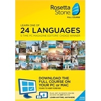 Rosetta Stone 24 month subscription PLUS Download Agnostic