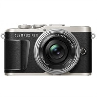 Olympus PEN E-PL9 KIT with 14-42MM LENS, 16GB CARD and Case - Black