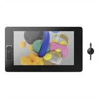 Wacom Cintiq Pro 24 Creative Pen & Touch Display - Digitizer w/ LCD display - multi-touch - electromagnetic - 17 buttons - wired - USB, DisplayPort