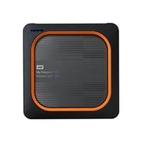 WD My Passport Wireless SSD WDBAMJ0020BGY - Wireless mobile storage - 2 TB - SSD 2 TB x 1 - USB 3.0 / 802.11ac