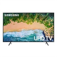 Samsung 65 Inch 4K Ultra HD Smart TV UN65NU7100F UHD TV with Sound+ Premium Soundbar - HW-MS650