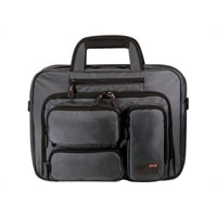 """Mobile Edge 16"""" Corporate Laptop Briefcase - Notebook carrying case - Graphite"""