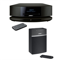 Bose - Wave Sound Touch music system IV + Sound Touch 10 Audio System - Espresso Black
