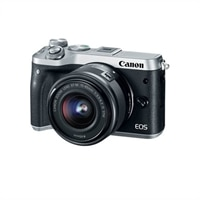 Canon EOS M6 - Digital Camera - 24.2 MP - Body Only - Silver