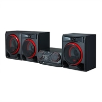 LG CK57 - Mini system - 1100-watt (total)