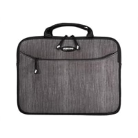 Mobile Edge SlipSuit - Laptop sleeve - 13.3-inch - carbon with black accents