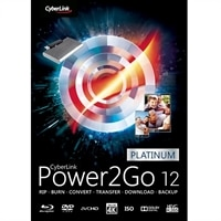 Download - CyberLink Power2Go 12 Platinum