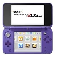 New Nintendo 2DS XL - Handheld game console - silver, purple - Mario Kart 7
