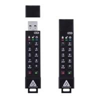 Apricorn Aegis Secure Key 3XN - USB flash drive - encrypted - 2 GB - USB 3.1 Gen 1 - FIPS 140-2 Level 3